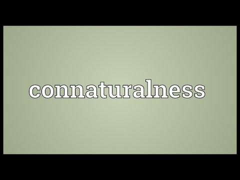 Header of connaturalness