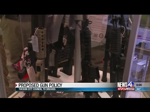 Garret Lewis - Tucson Councilman: Only Do Business With Socially Responsible Gun Dealers