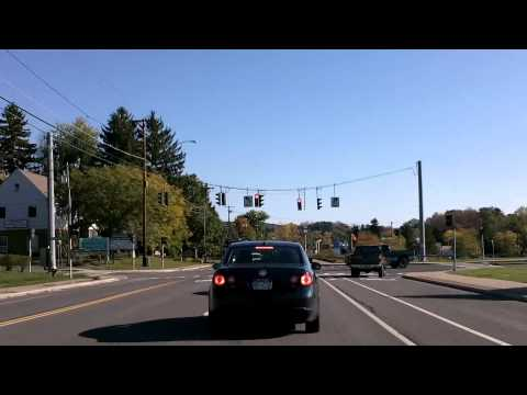 Albany & Troy, NY, Route 7 To Vermont Drivelapse Dash Cam