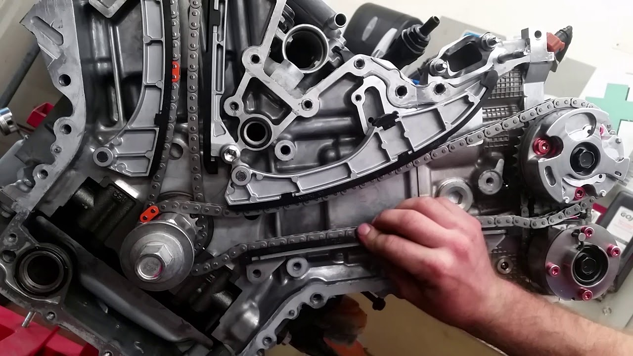 how to time toyota 3ur fe tundra sequoia v8 timing chains [ 1280 x 720 Pixel ]
