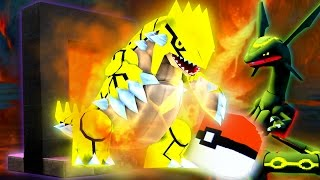 Minecraft Pixelmon Portals - GROUDON PORTAL!? - Episode 2 - PIXELMON LUCKY BLOCK BATTLES w/L8Games!