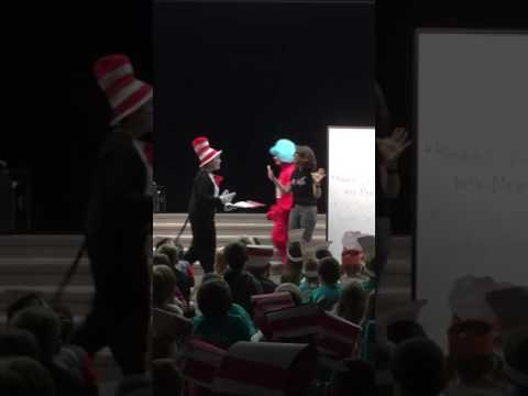 Read Across America Day Celebration, Manatee Elementary School, Viera, Fl February 24, 2017