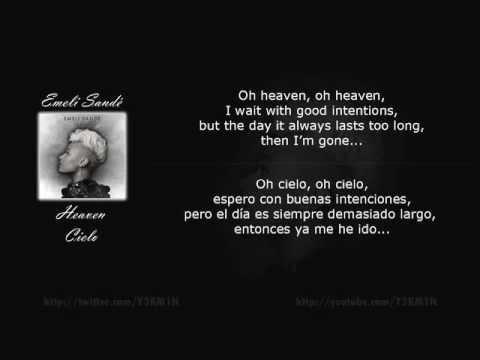 Emeli Sandé - Heaven - Lyric English - Letra Español