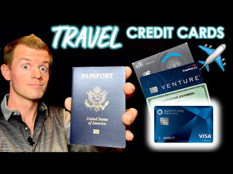 4 BEST TRAVEL CREDIT CARDS For Beginners (How To Travel For Free!)