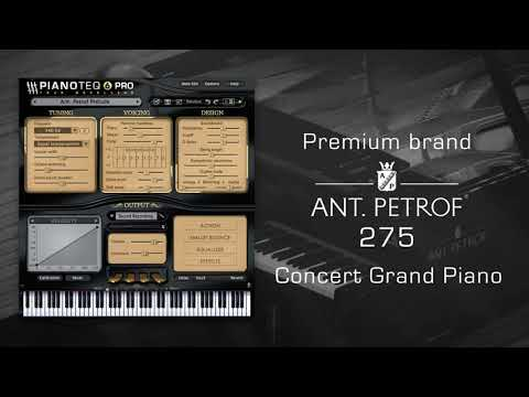 ANT. PETROF 275 grand piano for Pianoteq