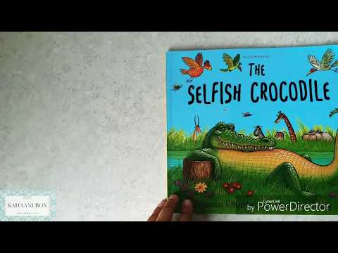 The Selfish Crocodile (English) | Children's Books Read Aloud By Neha