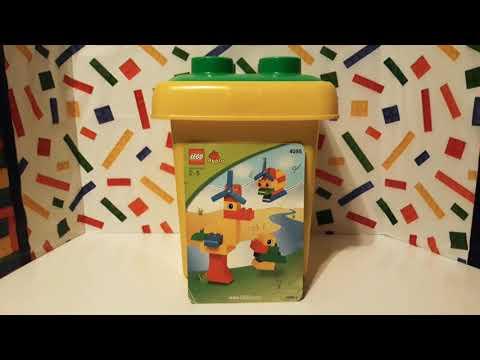 2004 2006 Lego Duplo 4085 Duplo Yellow Bucket Youtube