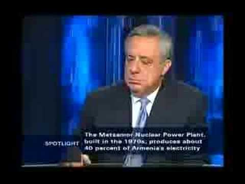 Foreign Minister of Armenia Vartan Oskanian Interview Part 3