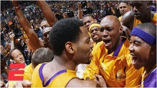 Robert Horry's Buzzer-beater Lifts Lakers Past Kings In 2002   Espn Archives