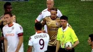 Roma fans chanting racist chants 12/5/2013