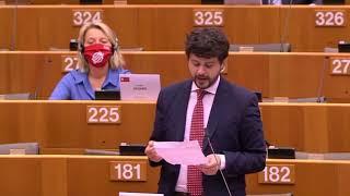 """Intervento durante la Plenaria di Brando Benifei, capo delegazione PD, su """"Piano europeo di ripresa economica dell'UE. Dichiarazioni del Consiglio e della Commissione"""""""