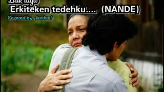 Gambar cover Hanya Rindu Lirik versi Bahasa karo (Nande)