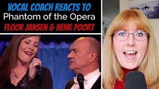 Vocal Coach Reacts to Floor Jansen & Henk Poort 'Phantom Of The Opera' Beste Zangers 2019