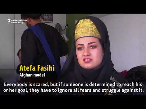 Afghan Models Defy Threats On Catwalk