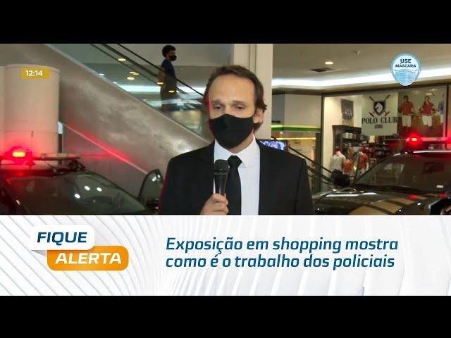 Dia do Policial Federal: Exposição em shopping mostra como é o trabalho dos policiais