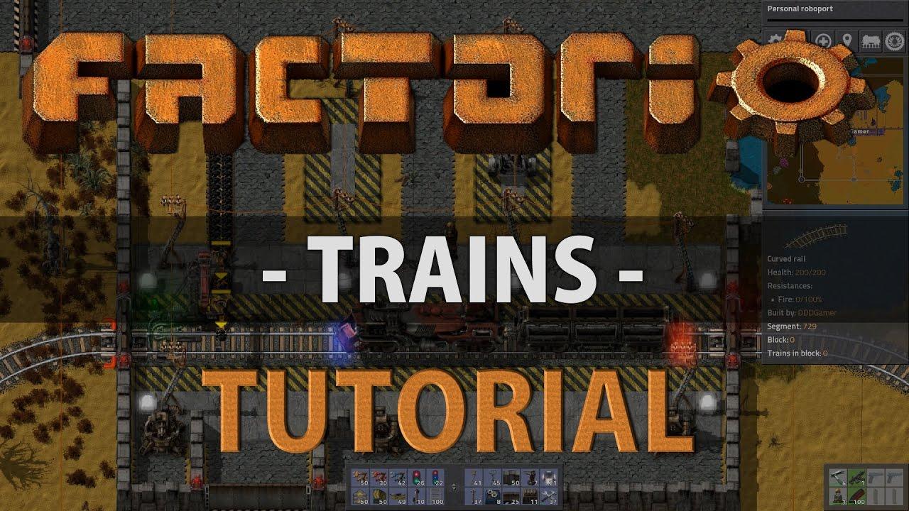 how to make factorio train unity