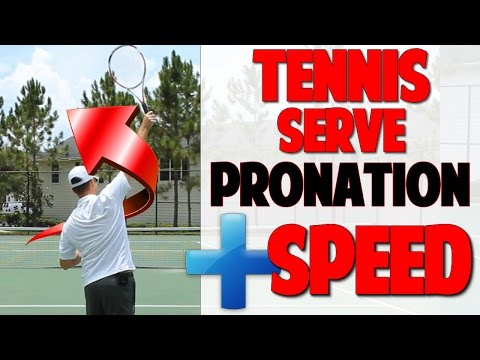 Tennis Serve Pronation: Increase Speed! | Video 4 (Top Speed Tennis)