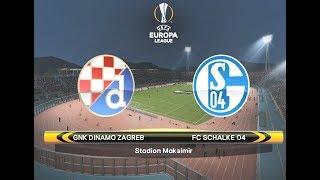 PES 2018 Europa League Cup Match 4 - Dinamo Zagreb vs FC Schalke 04
