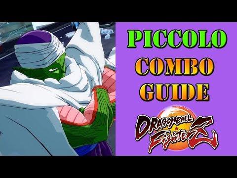 Dragon Ball FighterZ - Piccolo combo guide