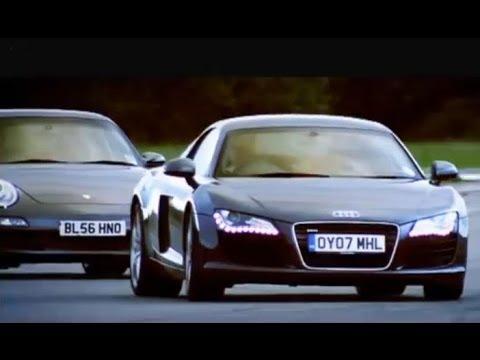 Audi R8 vs Porsche 911 Carrera - Top Gear - BBC