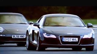 Audi R8 vs Porsche 911 Carrera - Top Gear - BBC thumbnail