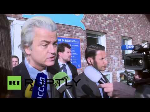 Netherlands: Wilders urges Dutch people to regain 'sovereignty' in Ukraine referendum