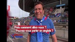 MALAISE d'un supporter Français ne sachant pas parler Anglais dans Quotidien