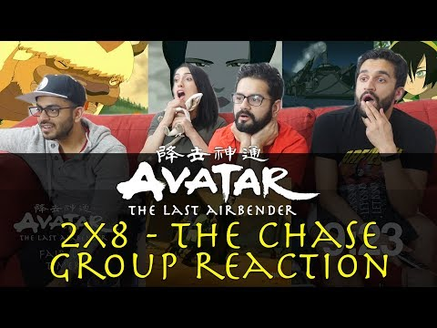 Avatar: The Last Airbender - 2x8 The Chase - Group Reaction