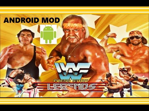 WWF LEGENDS 2.1 MOD Android Game Tutorial+link 2019