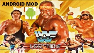 WWF LEGENDS 2.1 MOD Android Game Tutorial+link 2018