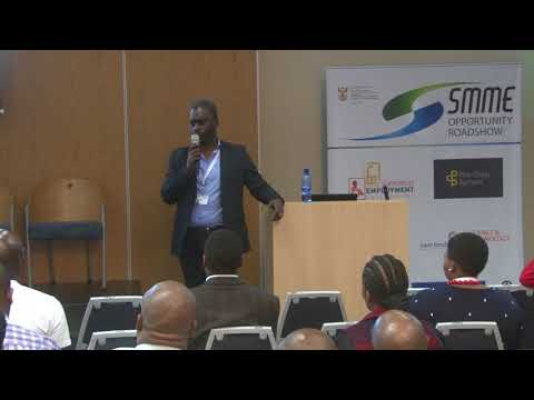 Andrew Maren, CEO, Profit Share Partners at Opportunity SMME Roadshow East London