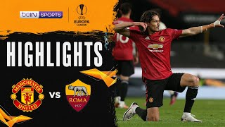 Manchester United 6-2 Roma   Europa League 20/21 Match Highlights