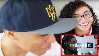 Tsu Surf freestyles on Bars On I-95 REACTION | MY DAD REACTS