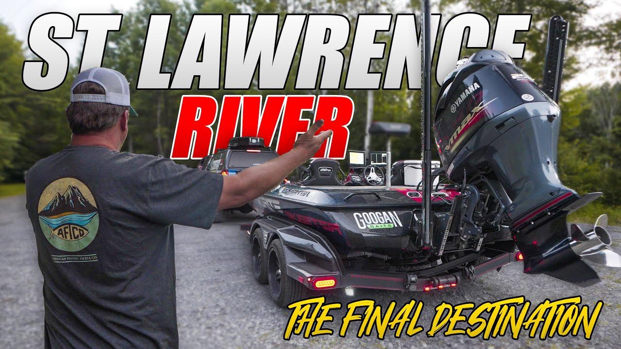 The FINAL DESTINATION - Bassmaster Elite St. Lawrence River TRAVEL - UFB Ep.42 (4K)