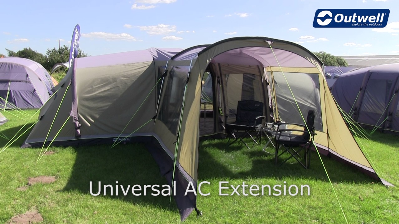 Outwell Universal AC Extension | Innovative Family C&ing & Outwell Universal AC Extension | Innovative Family Camping - YouTube