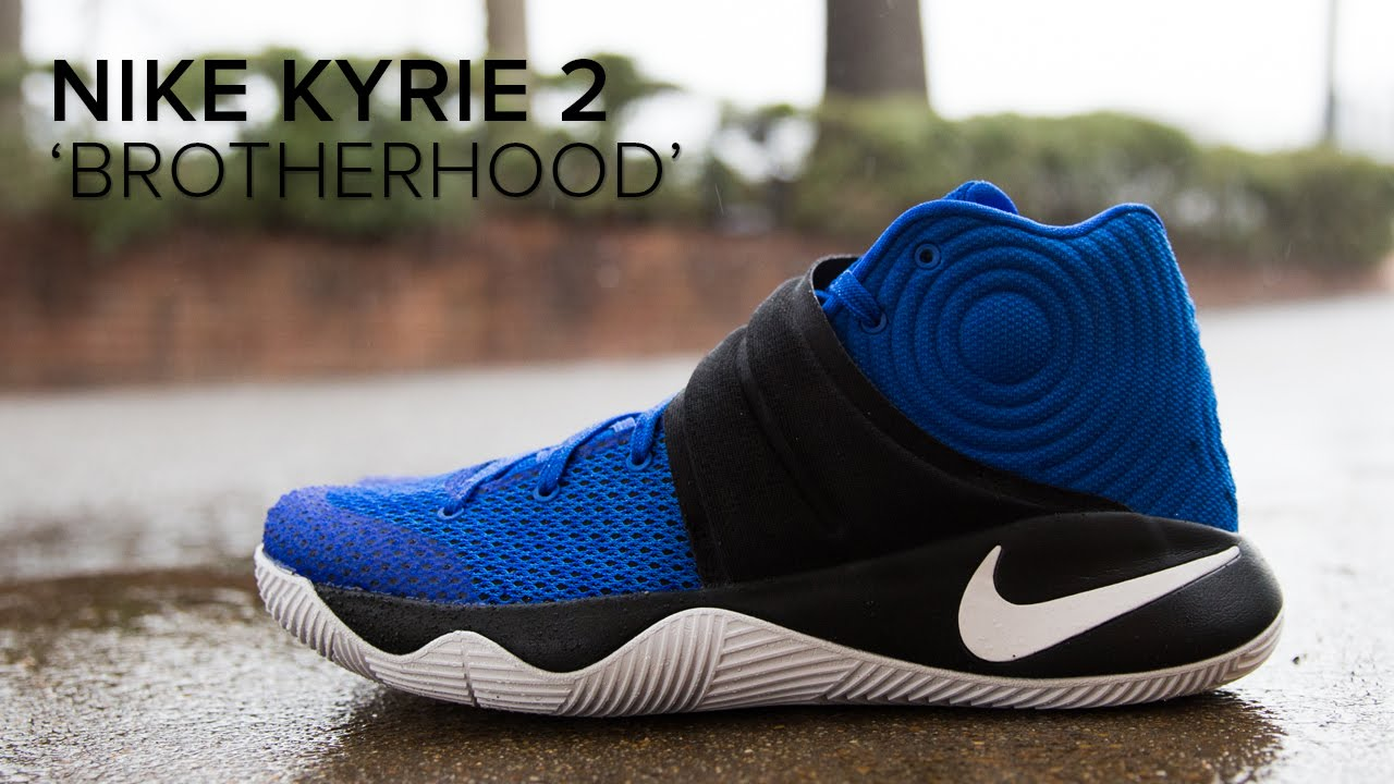 official photos 6ce23 c79c1 Nike Kyrie 2  Brotherhood  On Feet Review