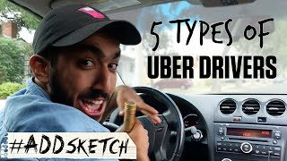 5 Types of Uber Drivers