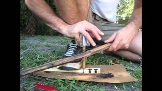 Poplar Bow Drill Attempt