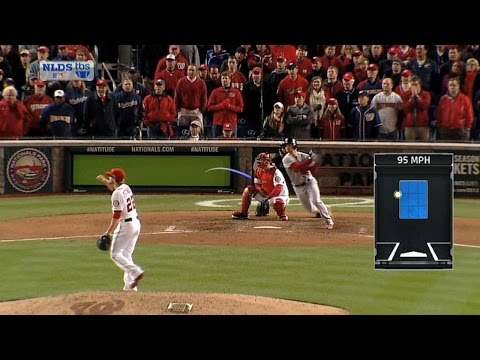 2012 NLDS Gm5: Kozma gives Cards lead with two-run hit