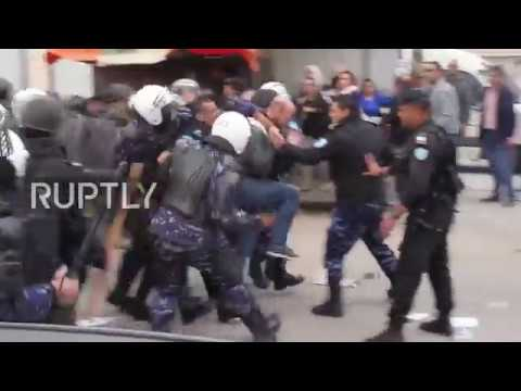 State of Palestine: Protesters clash with Palestinian police over deadly Israeli Ramallah raid