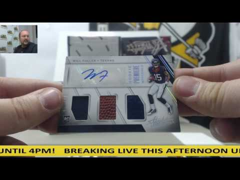 2016 Panini Absolute Football Group Case Break - Campbell jersey