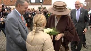 Een halve eeuw Beatrix in de regio in beeld