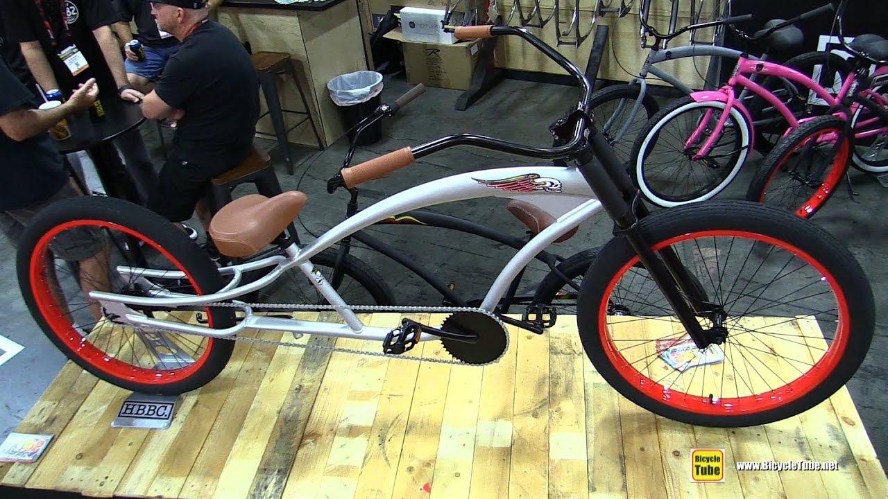 2017 Hbbc Skull Amp Bones Ss Stretch Series Cuiser Bike