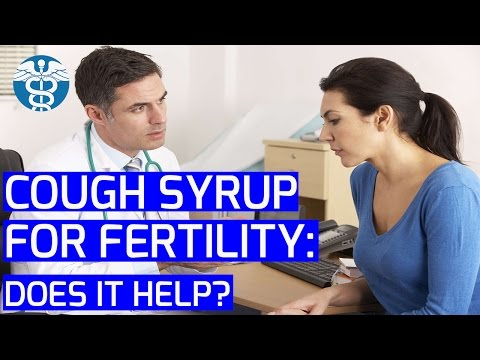 My Personal MD: Cough Syrup For Fertility - Does It Help   Infertility TV