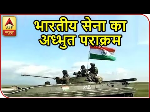 8 Nations Including India, China, Russia Take Part In Military Drill In Russia | ABP News