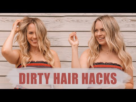 Fashion Finds - Dirty Hair Tips and Tricks