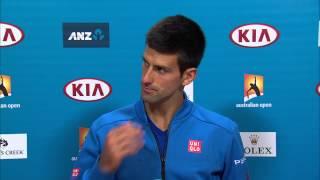 Novak Djokovic press conference (Final) - Australian Open 2015