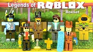 Roblox the Legends w/ Litozinnamon Gusmanak Merely TheGamer101 Seranok & Loleris Figure Pack