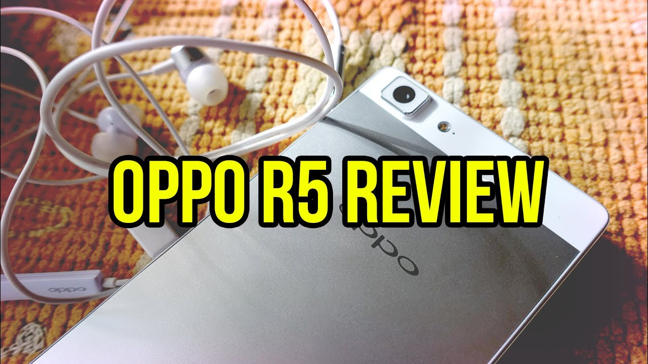 Oppo R5 Video Review