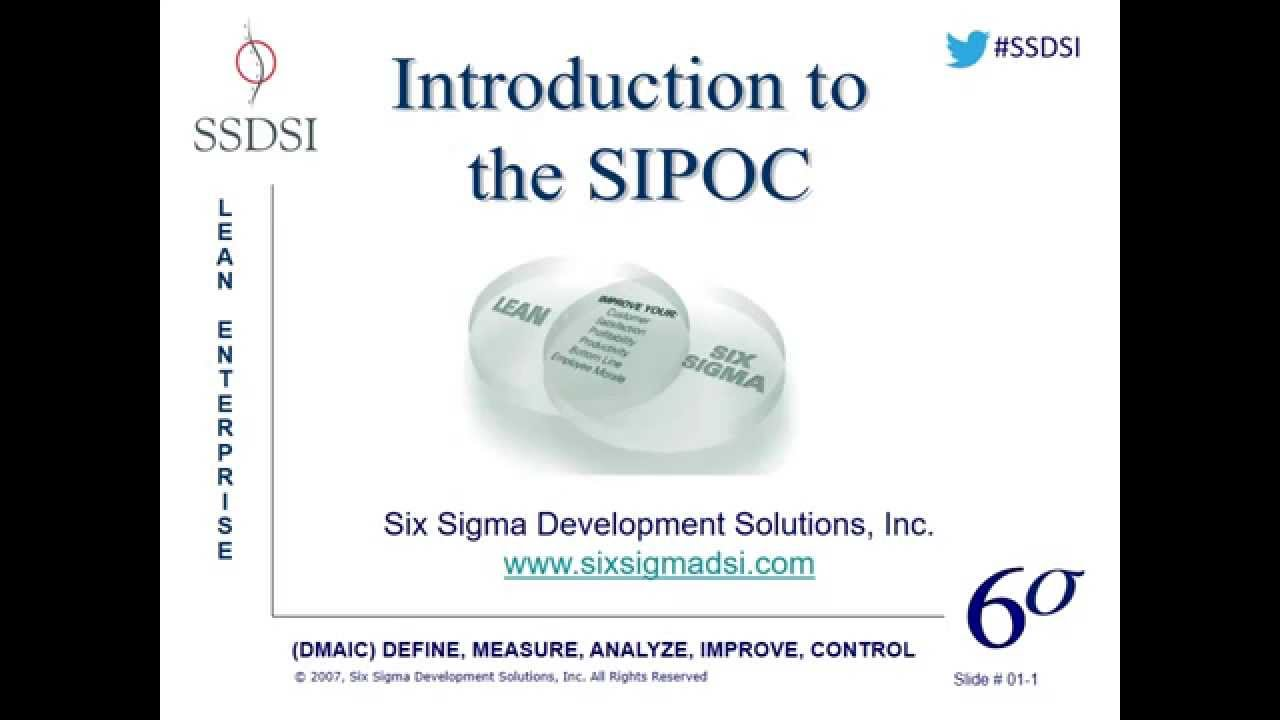 Introduction to the sipoc diagram webinar pre recorded youtube introduction to the sipoc diagram webinar pre recorded six sigma 1betcityfo Choice Image